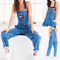 Tommy Jeans For UO '90s Dungaree Overall★ロゴ 国内発
