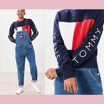 【Tommy Hilfiger】US限定★ロゴ入りスウェットColorblock