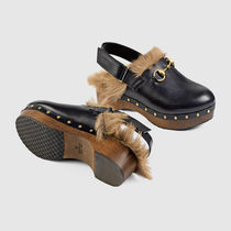 GUCCI(グッチ) サンダル・ミュール PRIVATE SALE START 2016GUCCI★Amstel Leather Clog