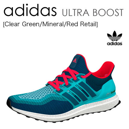 adidas ULTRA BOOST Green/Mineral/Red ウルトラブースト