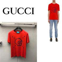 Gucci Ghost Skull t-shirt Red