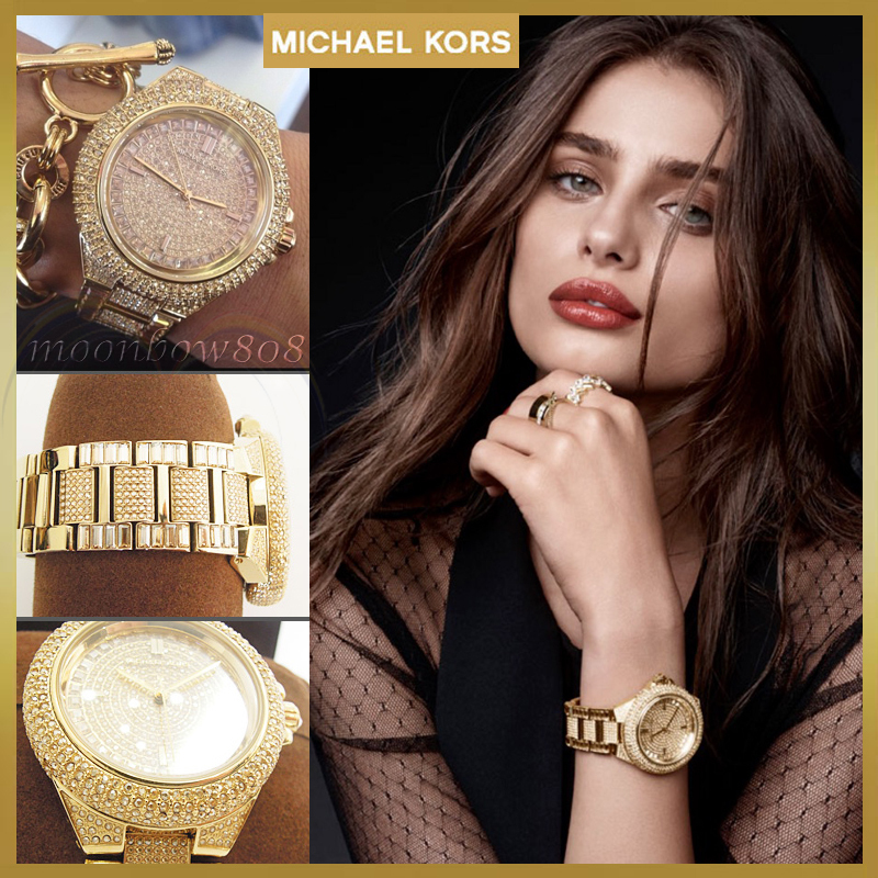 【Holiday☆SALE】Michael Kors Camille クロノグラフMK5720