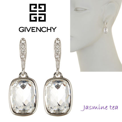And GIVENCHY Rectangle earrings