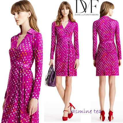 Very GOOD SALE DVF New Jeanne Two laps