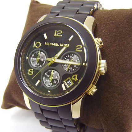 Michael Kors アナログ腕時計 ★安心ヤマト便★Michael Kors Black Polyurethane Watch MK5191(5)