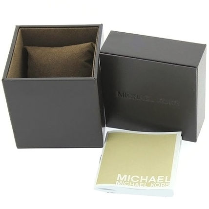Michael Kors アナログ腕時計 ★安心ヤマト便★Michael Kors Black Polyurethane Watch MK5191(7)