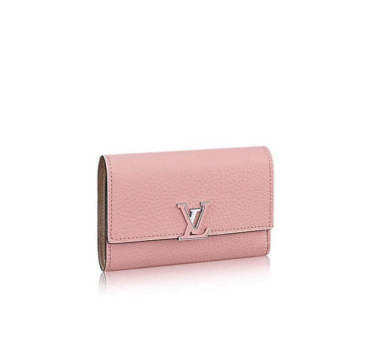 CAPUCINES COMPACT WALLET ヴィトン ウォレット 財布 国内発送 (Louis Vuitton/折りたたみ財布) 25023847