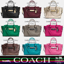 COACH★COACH SWAGGER 27 CARRYALL IN PEBBLE LEATHER 34816