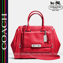 COACH★COACH SWAGGER FRAME SATCHEL IN LEATHER 35654