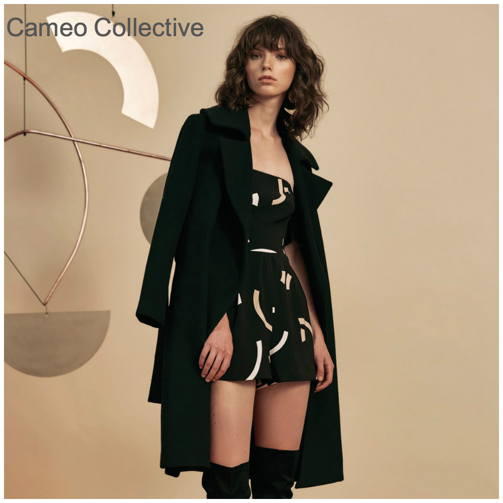 【CAMEO COLLECTIVE】DREAM SPACE COAT ロングコート♡