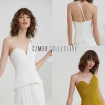 CAMEO COLLECTIVE(カメオコレクティブ) キャミソール CAMEO COLLECTIVE アシメントリーNO COMPETITION トップ
