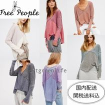 Free People(フリーピープル) チュニック 国内発送*関送込*FreePeople*新作*ソフトタッチ/カットソー