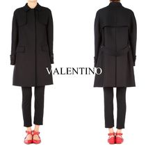 17-18AW V908 ANGORA BLEND WOOL DOUBLE BREASTED COAT