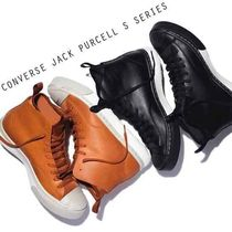 CONVERSE JACK PURCELL S SERIES 耐水レザーブーツ