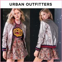 Urban Outfitters(アーバンアウトフィッターズ) ブルゾン 関送込☆国内発送 Urban Outfitters メタリックカラージャケット