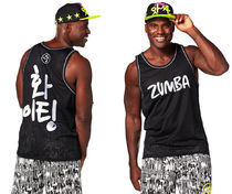 ZUMBA(ズンバ) トップス ◆MENS 12月新作◆Let's Win This Jersey Back to Black(全2色)