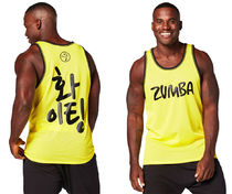ZUMBA(ズンバ) トップス ◆MENS 12月新作◆Let's Win This Jersey Mell-OhYellow(全2色)