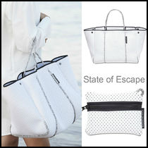 AU発★State of Escape★ポーチ付き エスケープバッグ★ホワイト