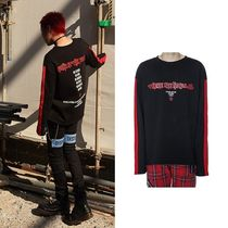 ANOTHERYOUTH(アナザーユース) Tシャツ・カットソー ☆ANOTHERYOUTH(アナザーユース)☆LINE LONG SLEVEE - BLACK