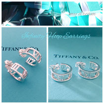 【Tiffany & Co】Atlas hoop earrings in sterling silver, mini