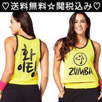 ZUMBA(ズンバ) トップス 2016.12新作【送料無料】ZUMBA Let's Win This Jersey Crop Top