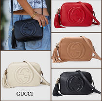 【最新作】GUCCI★ Soho leather disco bag ★選べる4色