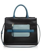 MARC JACOBS新作☆Madison Tricolor North/South Leather Tote