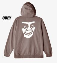 OBEY(オベイ) パーカー ★国内発送*OBEY*新作*THE CREEPERロゴスウェットフーディ/DR★