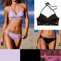 KNOTTED BACK BODY WRAP + LACE-UP BIKINI BOTTOM 上下★国内発