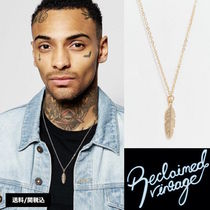 ASOS(エイソス) ネックレス・チョーカー ★送料込【Reclaimed Vintage】ヴィンテージ フェザー Necklace