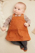 NEXT(ネクスト) 下着・肌着・パジャマ Ginger Cord Pinafore Dress, Bodysuit And Tights Set