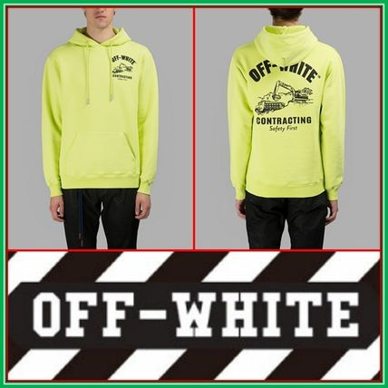 【17SS新作】Off-White★YELLOW CONTRACTING HOODIE Off-White(オフホワイト) バイマ BUYMA