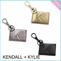 【Kendall + Kylie】レザー キーリング&カードケース 3色