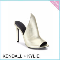 【Kendall + Kylie】新作!メタリック とんがりミュール