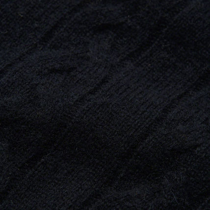 Abercrombie & Fitch ニット・セーター 【国内即発送】アバクロ CABLE KNIT CREW SWEATER★NAVY(5)