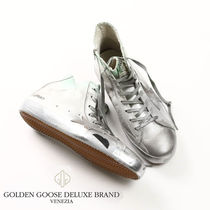 GOLDEN GOOSEゴールデングースFRANCY SILVER SPOTTED SNEAKERS