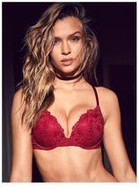 Victoria's secret(ヴィクトリアシークレット) ブラジャー&ショーツ ★Red Lacquer Lace★NEW! Push-Up Bra