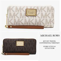 *Michael Kors*New*Jet Set Travel Continental Wristlet/長財布