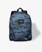 A&F ACTIVE standard nylon logo backpack