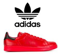 【関税込】Adidas by Raf Simons Stan Smith  スニーカー 赤