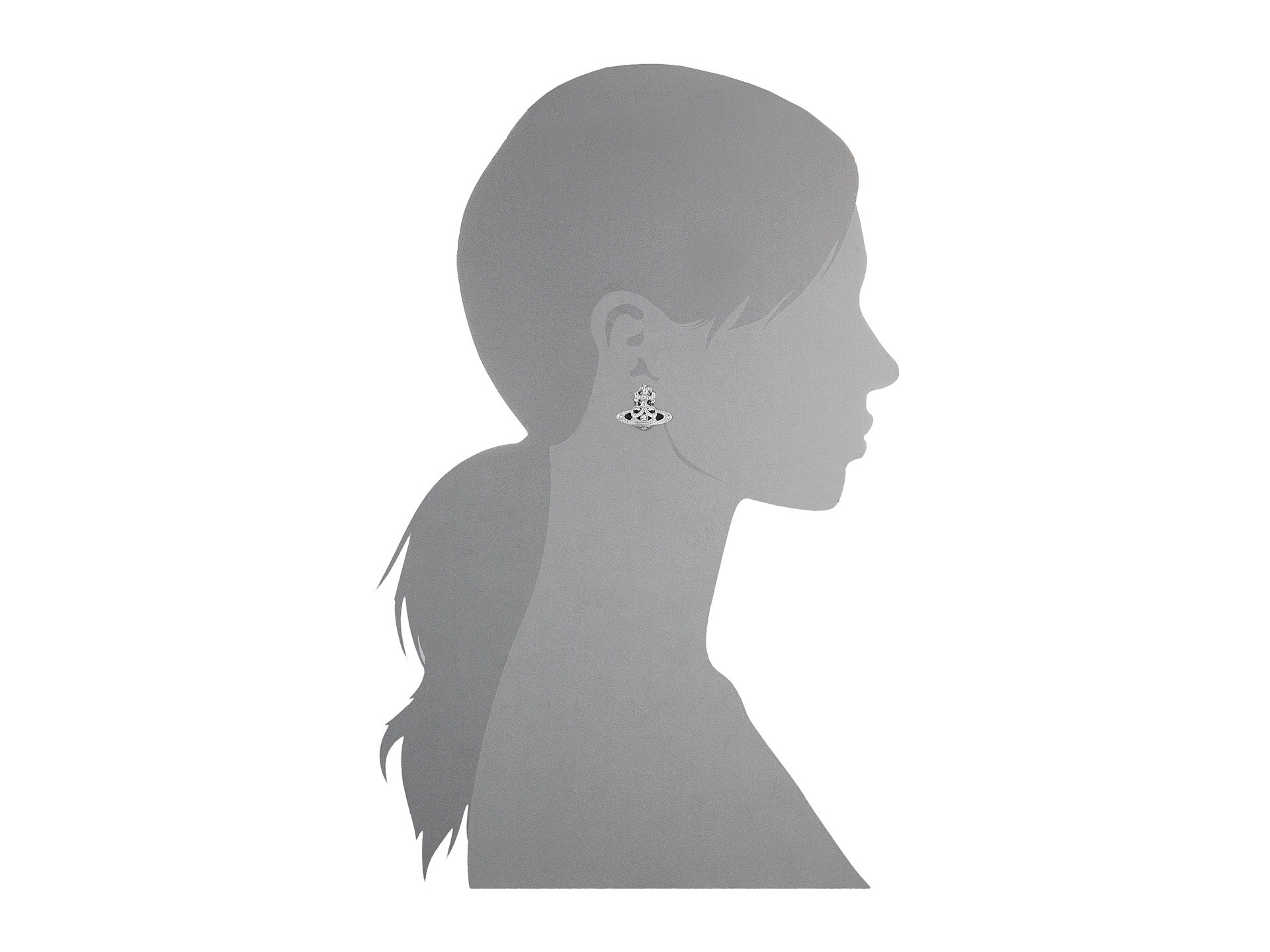 ☆送料込み☆Cassandra Bas Relief Earrings ジュエリー