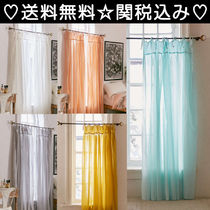 Urban Outfitters(アーバンアウトフィッターズ) カーテン 【送料無料】Urban Outfitters おしゃれ♪ボイルカーテン 全5色