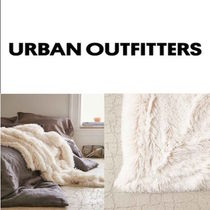 Urban Outfitters(アーバンアウトフィッターズ) ブランケット 関税送料込☆Urban Outfitters☆フェイクファー大判ブランケット