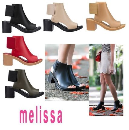 Melissa Elastic Dance cut sandals