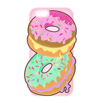 国内即発送★Claire's Doughnuts with Sprinkles PhoneCase 6/6S