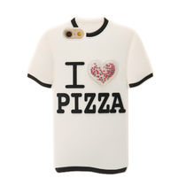 国内即発/送料無料★Claire's I Love Pizza Tee iPhoneCase 6/6S