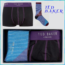 TED BAKER(テッドベイカー ) ボクサーパンツ TED BAKER テッド ベーカー パンツ & ソックス セット ギフトに