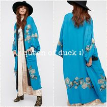 Free People(フリーピープル) カーディガン 送込_国内発送_Free People*Floral Embroidered Kimono♪