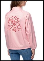 OBEY(オベイ) アウターその他 ★Obey★Mira Rosa Pink Coaches ジャケット≪関税・送料込≫
