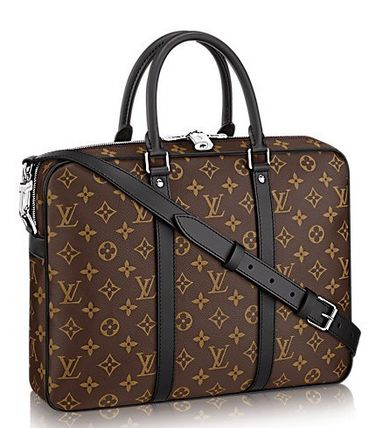 The yen sale Louis Vuitton Monogram business bag